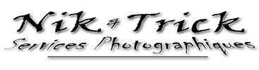 Nik & Trick Photo Services Retina Logo