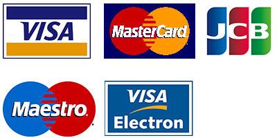 credit and debit card logo