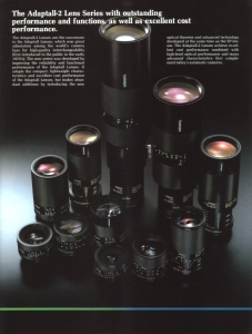 Original ad from 1982...when we thought a specialist lens maker made the best lenses!