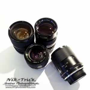Here you find some really brilliant lenses.  The quality is clear (literally!)