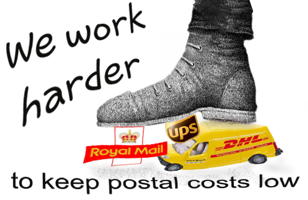 Cheap postage advertisment