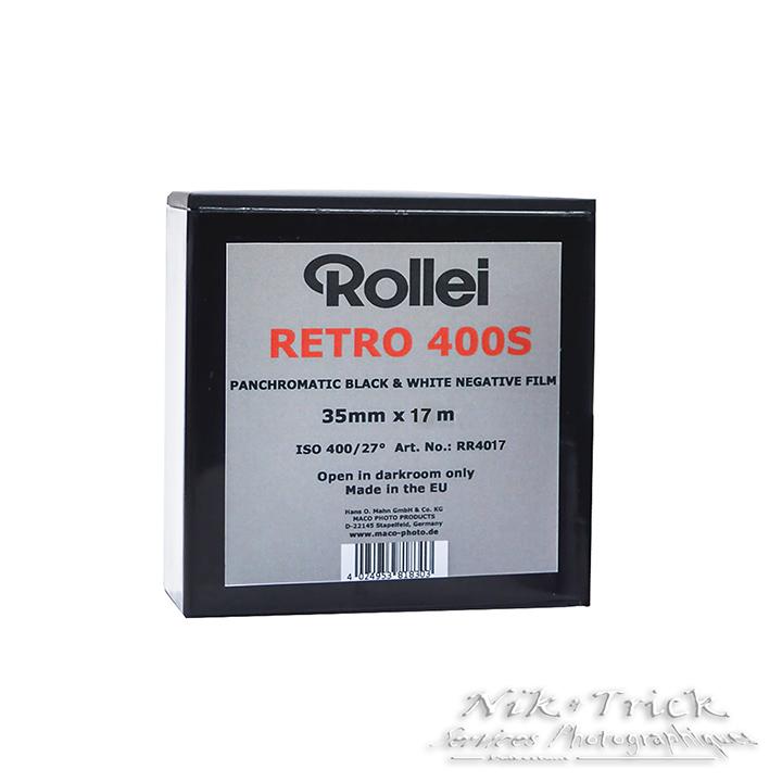 Rollei Retro 400S ~ 100ft (30.5M) Bulk Roll – Nik & Trick Photo Services