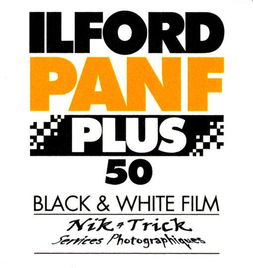 Ilford PAN F