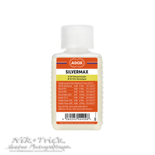 Silvermax Developer 100ml